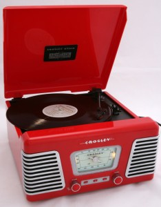 RE2304 Red Record Player